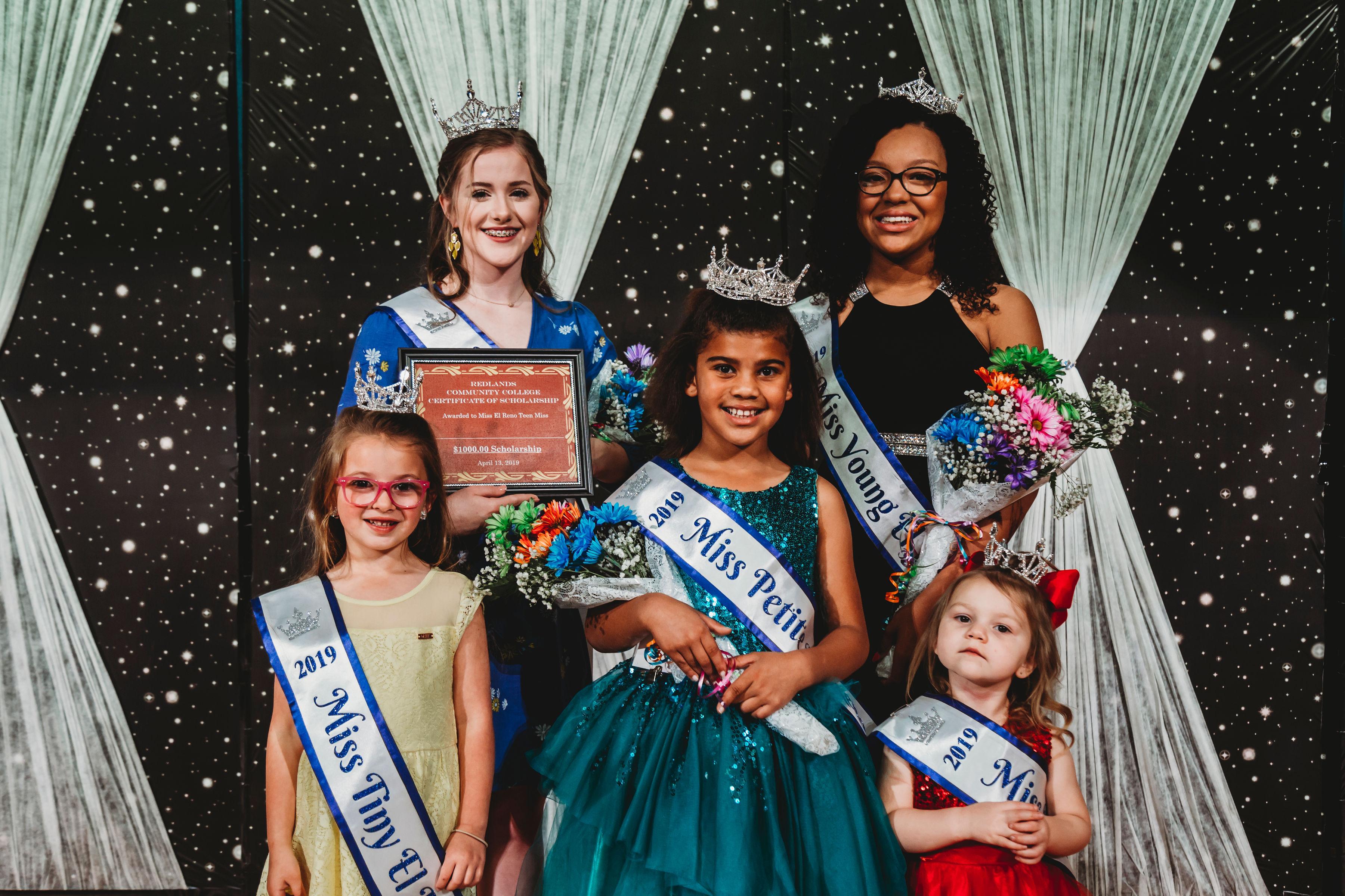 2019 Miss El Reno Titleholders